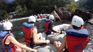 High Country Adventures - Ocoee Rafting, Labor Day 2012 - GoPro HD