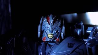 Transformers The Last Knight Stopmotion - Megatron And Barricade Reunion