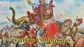 Hail Caesar! Carthage VS Mercenaries - Mercenary War Battle Report