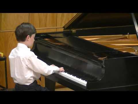 James Zachman at Dallas Music Teachers Association Recital October 26, 2014