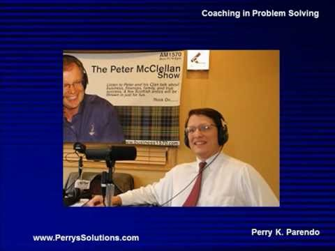 Coaching in Business Problem Solving - Radio Interview - Perrys Solutions