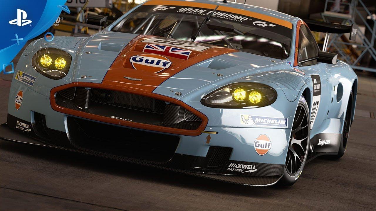 Gran Turismo Sport Patch 1 56 Adds Aston Martin Dbr9 Gt1 Ps4 Youtube