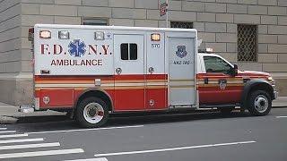 [NEW YORK CITY] FDNY AMBULANCES + NYPD + SECRET SERVICE + EMS NY CITY (COLLECTION)