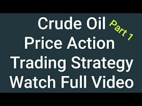 Crude Oil Trading Strategies In Hindi | No Indicators | Watch Full Video