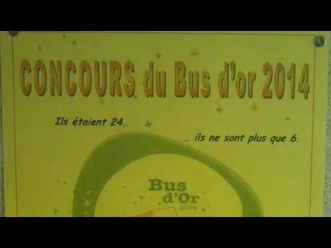 bus d'or 2014 - qualification à la Beaujoire à Nantes