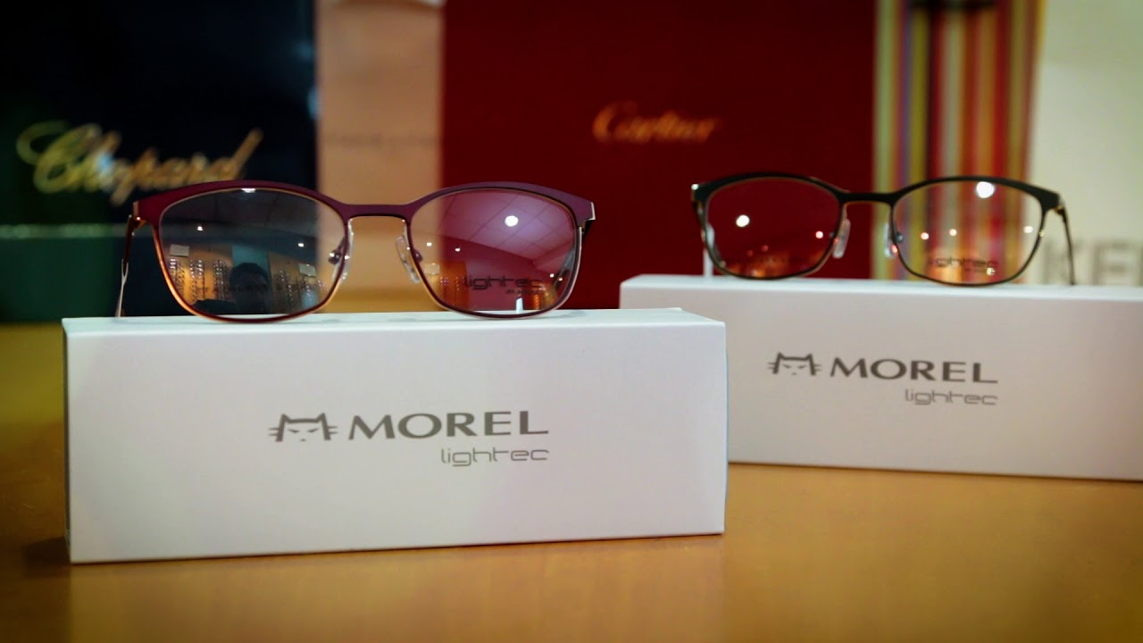 fdd91c0f1087 Lightec Collection from Morel France Eyewear - YouTube