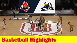 #11 Heartfire vs #6 The Overlooked Basketball Game Highlights, 2021 TBT Round 1
