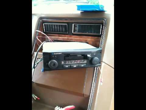 chevy van g30 1979 radio vintage youtube. Black Bedroom Furniture Sets. Home Design Ideas