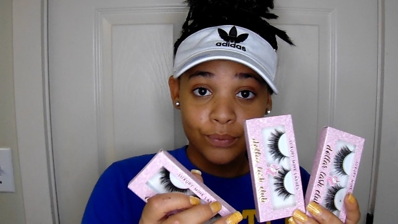 594b93057b8 EYELASH REVIEW (DOLLAR LASH CLUB)//AYARYSKARATE - YouTube