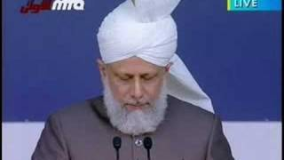 Khilafat Centenary Jalsa UK 2008 - Second Day Address - 1/11