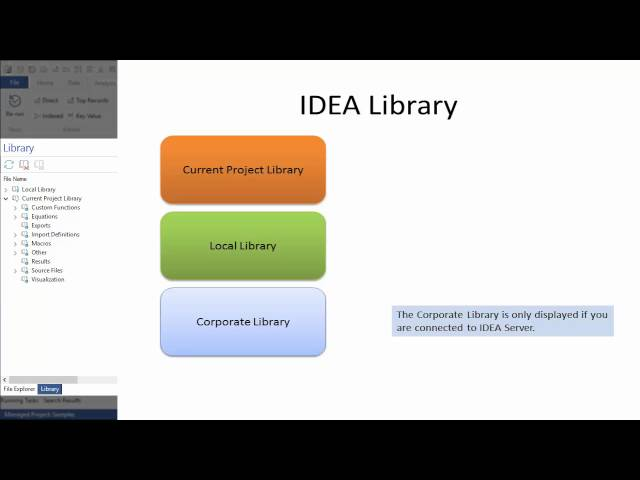 IDEA 10: Managing Projects