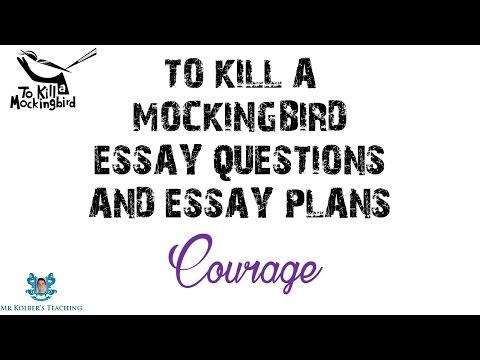 TKAM - Essay Building Blocks: Courage