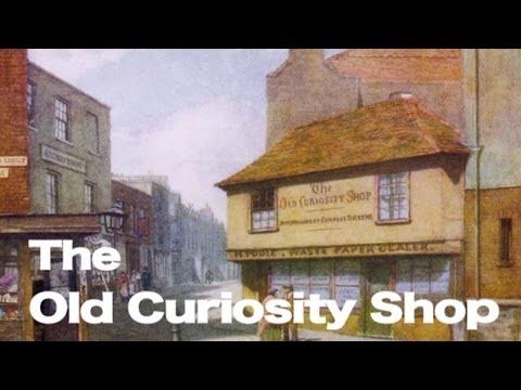 The Old Curiosity Shop, Charles Dickens, illustrations