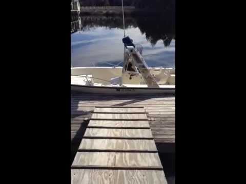 Dock and fish cleaning station youtube for Dock fish cleaning station