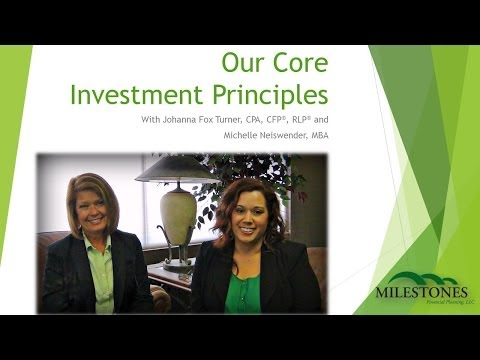 Milestones' Core Investment Principles