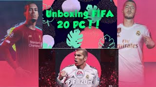 UNBOXING FIFA 20 !!! PC STANDARD EDITION !!! UNBOXING AND REVIEWING• ULTIMATE GAMER RISHABH•