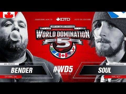 KOTD - Rap Battle - Bender vs Soul | #WD5