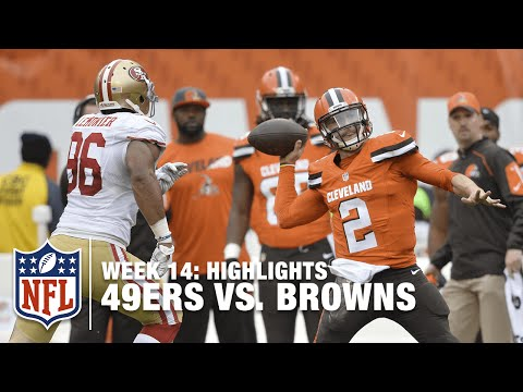 49ers vs. Browns | Week 14 Highlights | NFL