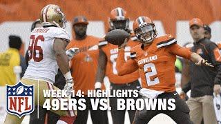 49ers vs. Browns | Week 14 Highlights | NFL