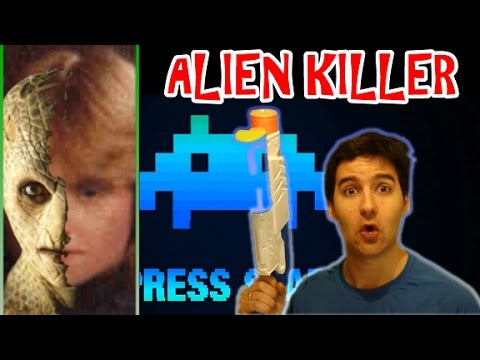 """Alien killed in my bathroom!"" -says Sherry Shriner (laughter guaranteed)"