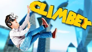 Climbing All Day! - Climbey Gameplay -  VR HTC Vive