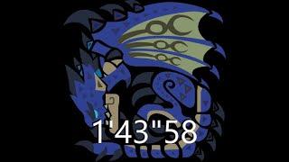Monster hunter World | Azure Rathalos speedrun TA Rules