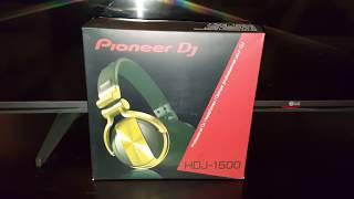 Pioneer dj hdj 1500-N version dorada (gold) (español)