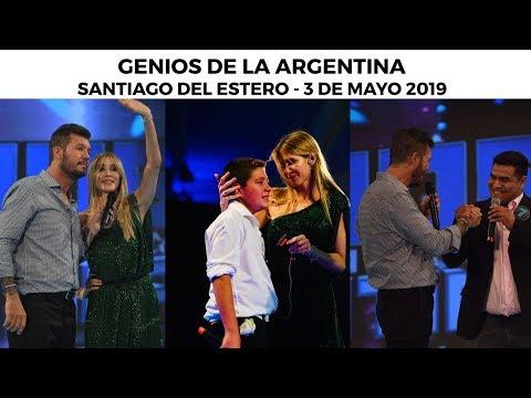 Genios de la Argentina en Showmatch - Programa completo 03/05/19 - SANTIAGO DEL ESTERO