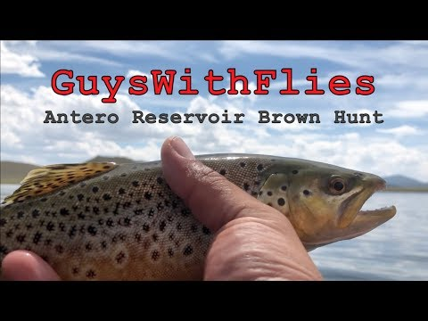 Antero Reservoir Fly Fishing - GuysWithFlies GWF