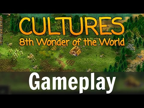 Cultures: 8th Wonder of the World - Gameplay