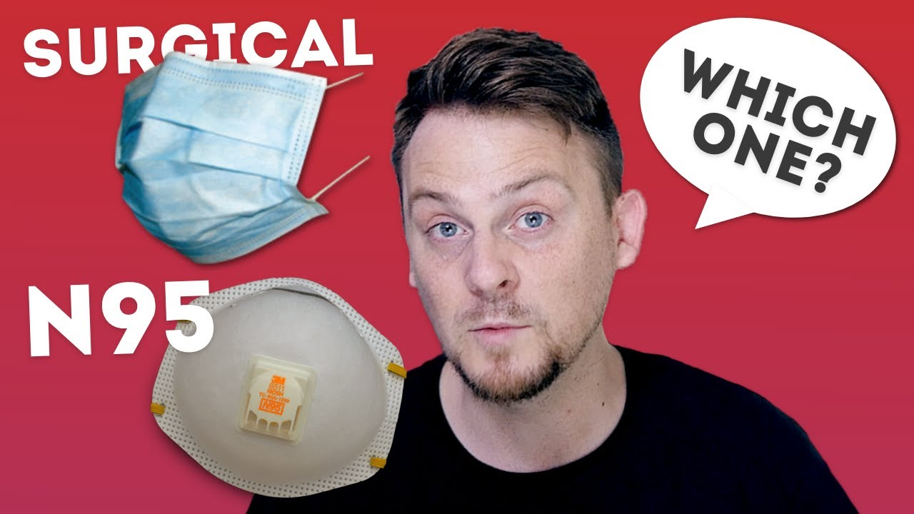 Coronavirus | Which mask will protect you? (N95 Masks vs Surgical Masks)