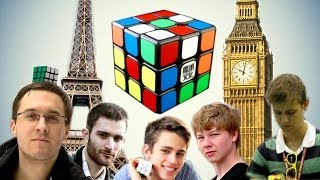 European Rubik's Cube World Records