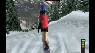 Gaming4Hackers:- Cool Boarders 2001 - ePSXe Emulator Playstation - (Gameplay)