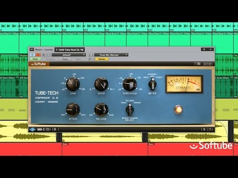 UAD Tube-Tech CL 1B Compressor Plug-In by Softube Trailer