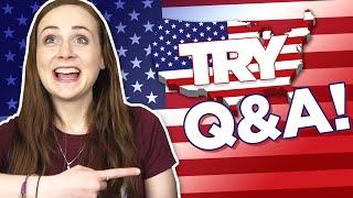 Irish People Try America Q&A!