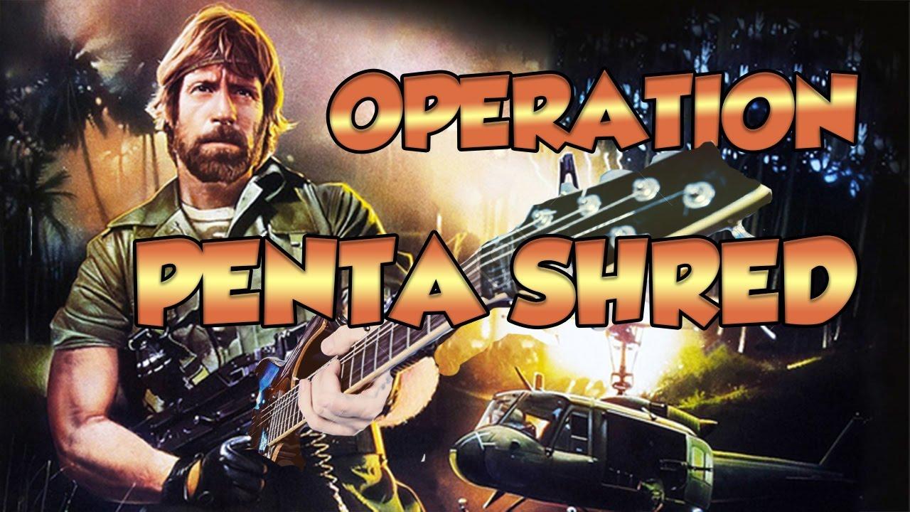 OPERATION PENTA SHRED - LE GUITAR VLOG 172