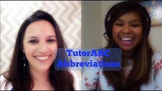 Interview with Nikki K- Tutor ABC Abbreviations