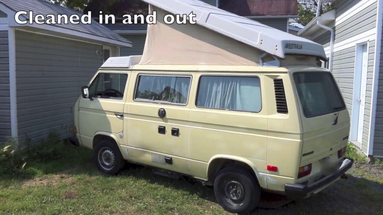 1982 volkswagen vanagon westfalia upgrades [ 1280 x 720 Pixel ]