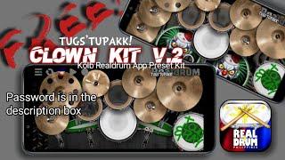 Kolb Realdrum App Free Preset Kit | TUGS'TUPAKK! Clown Kit