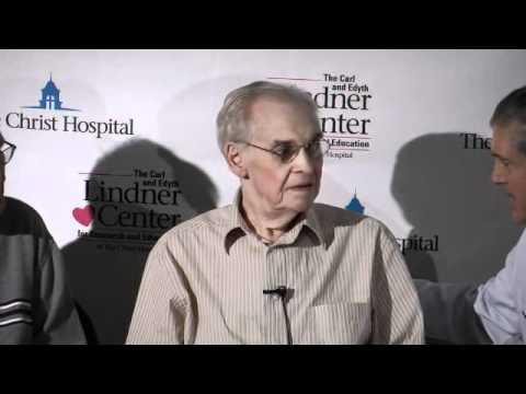 Dr Dean Kereiakes introduces patients in PARTNER Trial