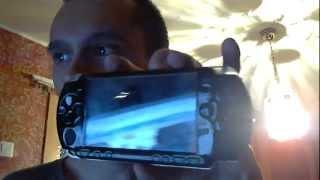 Пытаюсь включить PSP