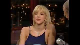 Courtney Love - Interview on David Letterman Show (1999 2nd time)