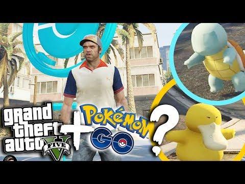 pokemon go 加 GTA又有無得諗?? 『 Grand Theft Auto V │ 俠盜獵車手V 』