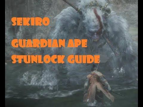 Sekiro Guardian Ape Stunlock Guide
