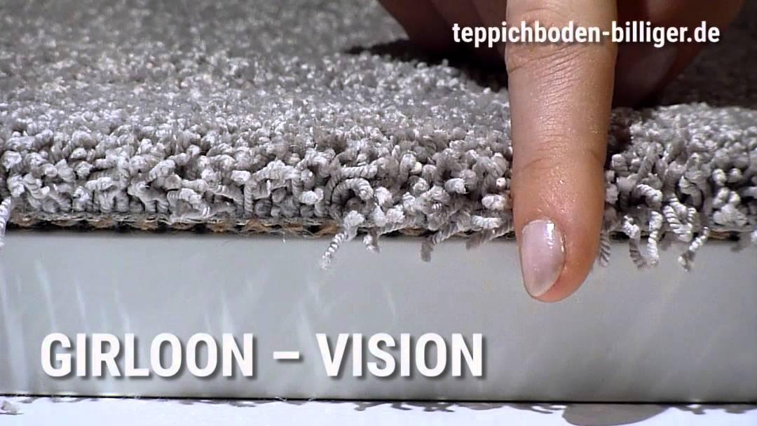 """Billiger teppichboden  Der Wohlfühl-Teppichboden """"Girloon Vision"""" - YouTube"""