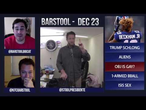 Barstool Rundown // December 23rd 2015