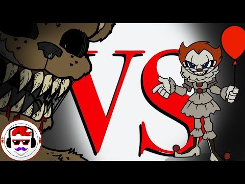 IT Movie VS Five Nights At Freddys  Rockit Gaming Rap Battle  Pennywise VS Freddy