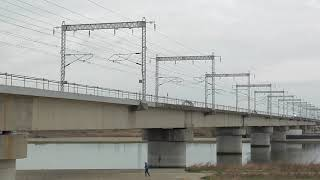 山陽新幹線 加古川橋梁 みずほ