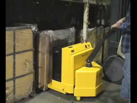 Electric Pallet Truck 4500 Lb Capacity Youtube