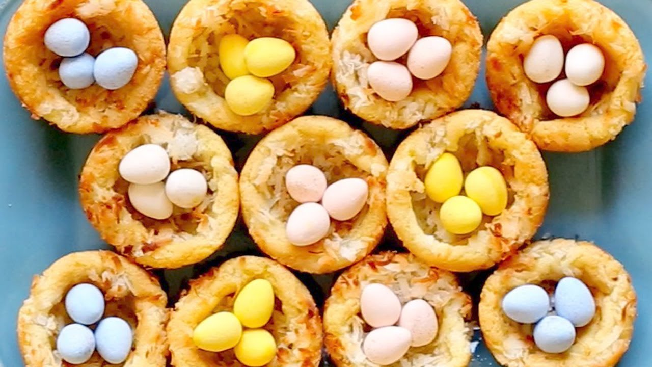 Sugar Cookie Easter Egg Nests Youtube